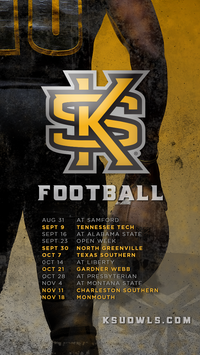 Fb Owls Announce 2017 Football Schedule Kennesaw State University